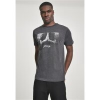 Mister Tee T-Shirt PRAY charcoal