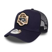 New Era Trucker Cap Hot Rod Kappe blau