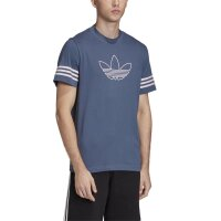 Adidas Originals T-Shirt Outline Tee tecink blue
