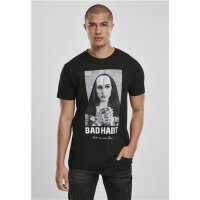 Mister Tee T-Shirt Bad Habit Tee schwarz