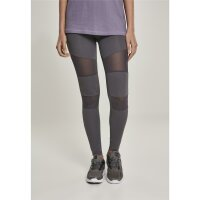 Urban Classics Leggings Mesh Tech darkgrey
