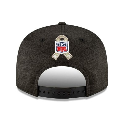 New Era Kappe Salute To Service 9Fifty schwarz Los Angeles Rams S/M
