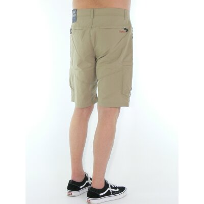 Vintage Industries Lodge Technical Shorts beige 40