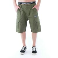 Vintage Industries Cargo-Shorts Bearing Technical olive