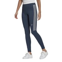 Adidas Originals Leggings 3-Stripes grenavy/whi meliert