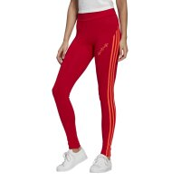 Adidas Originals Leggings 3-Stripes High Waist Tight scarlet