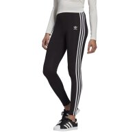 Adidas Originals Leggings 3-Stripes schwarz/weiß