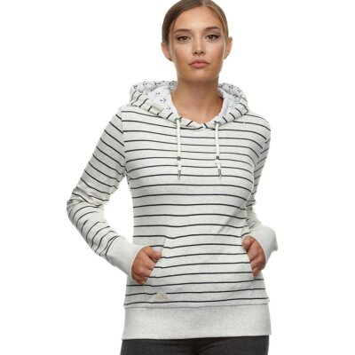 Ragwear Sweatshirt Berit Stripes white