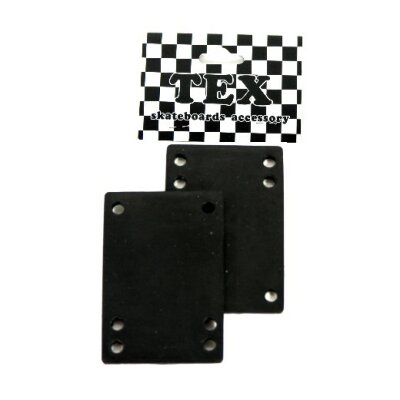 TEX Riser Pad Set eckig black